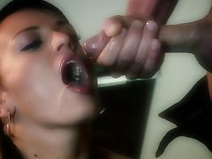 Holly Wellin lets a stud toy her asshole and fuck it doggystyle