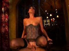 slut in corset