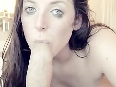 Foreskin sucking