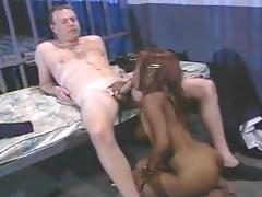 Ebony suck white cock in prison