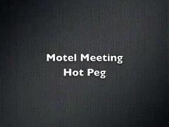 Hotel encounter with sexy peg