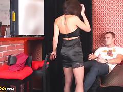 seducing courtesan shows her passion