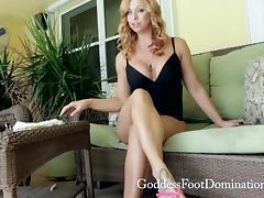 Cum Eating Instruction with Goddess Brianna