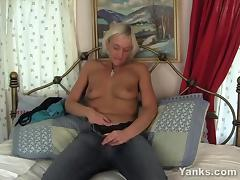 Slim MILF Barbie Toy Her Hairy Twat