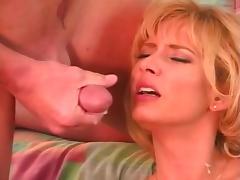 Big Tits Blonde DP