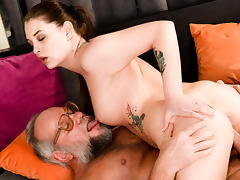 Angelina Brill in Grandpa's Dirty Magic Trick - 21Sextreme