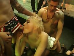 Hotties at a night club have the hottest sex of their lives