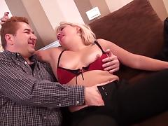 Mature blonde from the Holland is totally happy to get banged hard