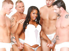 Monique Symone & Marcus London in White Out, Scene #01