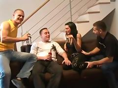 Creampie gangbang 3 german guys with hot junior gypsy girl
