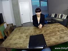Hardcore POV humping for the mesmerizing Gina Valentina