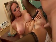 Exotic pornstar Dyanna Lauren in incredible cunnilingus, rimming porn video