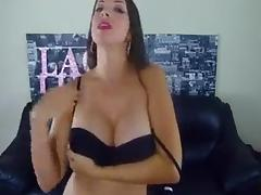 Stripping joi from sexy milf