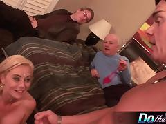 Blond Wife Banged
