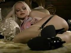Fabulous pornstar Jana Cova in exotic blonde, masturbation xxx clip