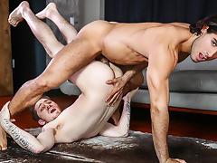 Diego Sans & Zak Bishop in Flexible Fuck - DrillMyHole