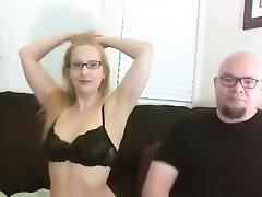 Sexy mature wife in lingerie teasing and seducing on webcam for fun