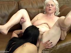 Grannies do it better insane lesbian sex