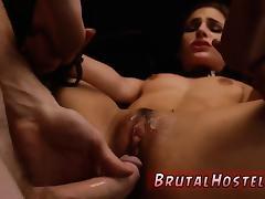 Rough eating Two youthful sluts, Sydney Cole and Olivia Lua,