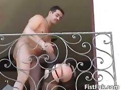 Hot blonde gets her wet cunt fucked part2
