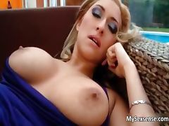 Busty blonde babe sucks o nan hard cock part6
