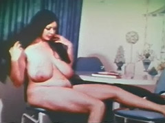Plump Girl is a Skillful and Sexy Stripper 1960