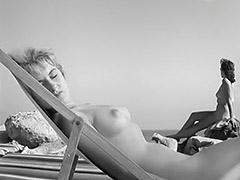 Hot Girls in the Nudist Resort 1950