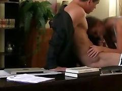 Amateur Brunette Fucked On Hidden Camera In An Office