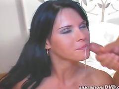 Sexy Jennifer Dark gets fucked hard in both holes