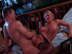 Randy Big Breasted Blonde Alanah Rae Getting Her Snatch Drilled