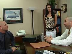 Fucking The Future Brunette Boss Jessica Jaymes In The Office