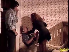 Francesca take two cocks