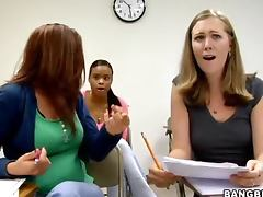 anal exam makes the teacher hot naughty and get a full hardcore