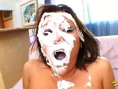 Claire Dames hard anal and face fucking