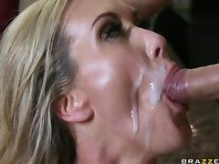 Busty Blonde MILF Brandi Love Gets Banged Hard In a POV Porn