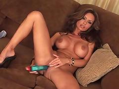 Solo Crissy Moran with sexy big tits