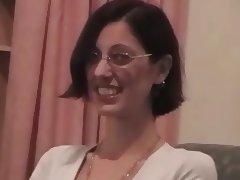 Carrie Swallows Cum