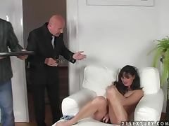 Mariana toys her pussy and gets it fucked deep and hard