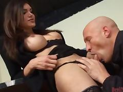 A Mouthful Of Warm Cum For A Guy From A Transsexual Babe