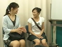 Flexible Japanese Ballerina Riding Her Instructor's Dick