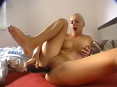 Amateur bitch masturbate and fucked german csm