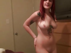 Private Tape of Emo Girlfriend Blowing