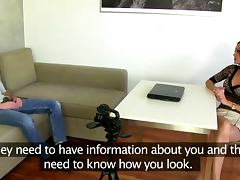 Bossy euro lady gets prospect naked