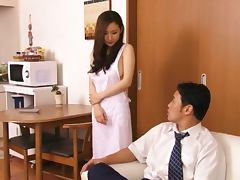 Cute Asian MILF Kaori Saejima Gets Vibrating Toys inserted