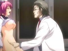 Uninhibited hentai gets screwed