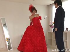 Nice Reira Aisaki gets her smooth pussy licked and fucked