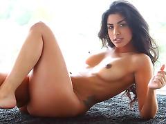 Roxann Celeste is posing so sexy on the camera
