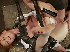 Stunning Marie McCray has an amazing BDSM experience