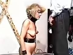 Pain videos. Incredible caning makes her ass red with pain in her eyes