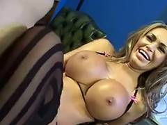 Fffm videos. Amazing FFFM Foursome with Oily Big Ass Blondes
